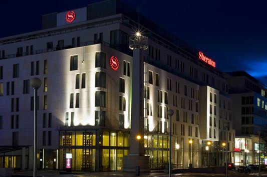 Sheraton Bratislava from outside