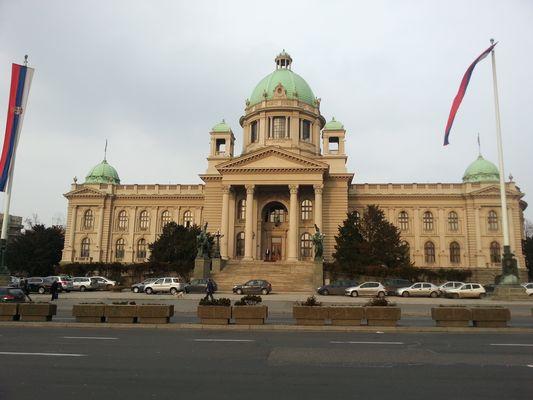 The Parliament in Belgrade