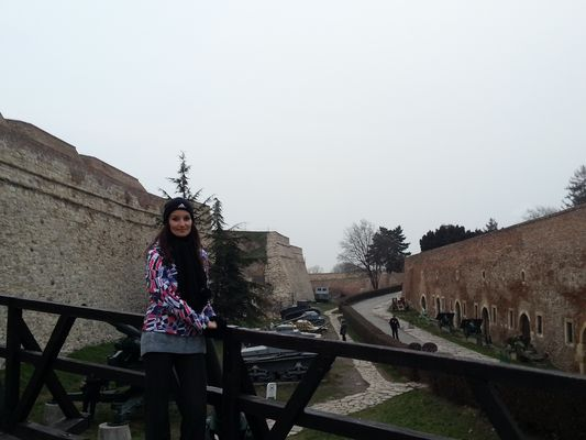 with tanks in Kalemegdan