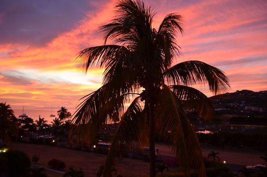 South Frigate Beach sunset from Timothy beach Resort