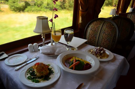 3 meals I had to taste on Napa Valley Wine Train