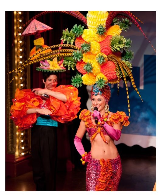Beach Blanket Babylon Pineapple Princess