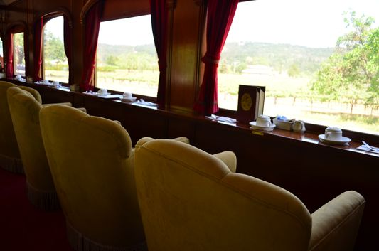 Napa Valley Wine Train Lounge Car