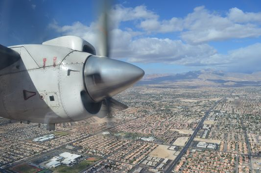 flying from Las Vegas to Grand Canyon
