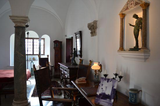 interior of the Villa San Michelle
