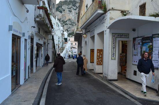 on the way to Piazetta Humberto I in Capri