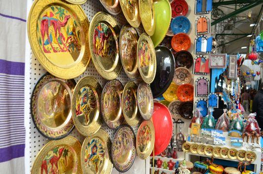 souvenirs in Medina