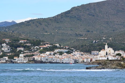the white architecture of Cadaques
