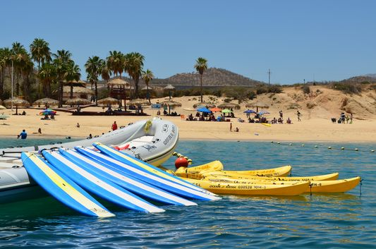 Cabo Adventures spot in Chileno Bay