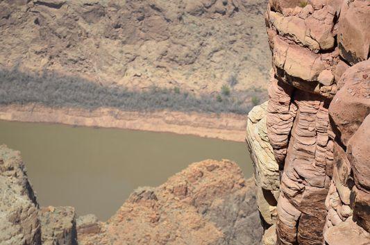 Colorado river carved Grand Canyon