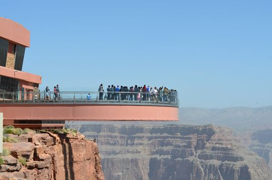 Grand Canyon Skywalk at Eagle Point West Rim