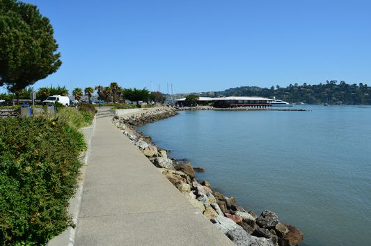 Sausalito Gabrielson Memorial Park waterfront