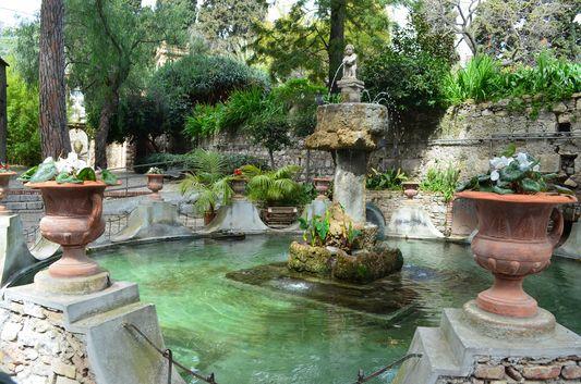 Trevelyan's public gardens in Taormina