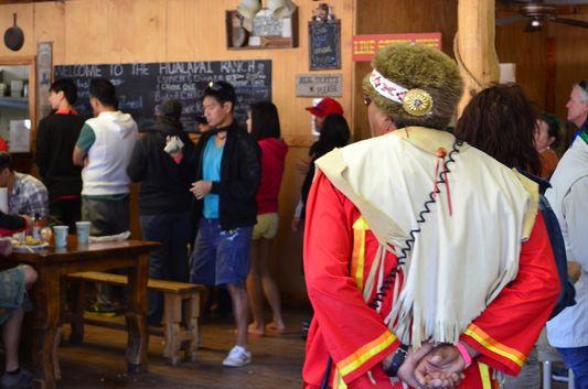 a Hualapai Native American at Hualapai Ranch