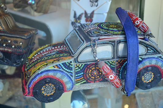 a stunning hand-made handbag in Sausalito
