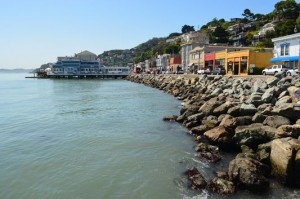 beautiful Sausalito waterfront