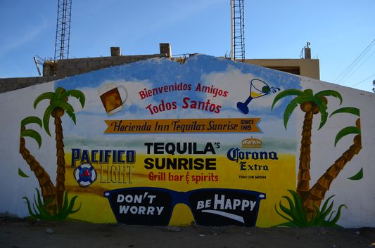 don't worry, be happy Todos Santos