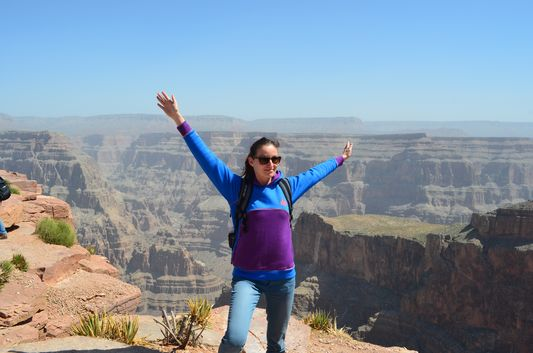 my first visit to Grand Canyon