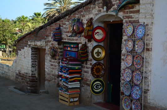 one of many handcrafts shops in Todos Santos