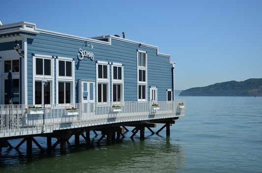 One Of The Famous Seafood Restaurants In Sausalito