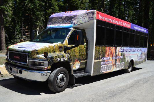 our Extranomical Tours minibus