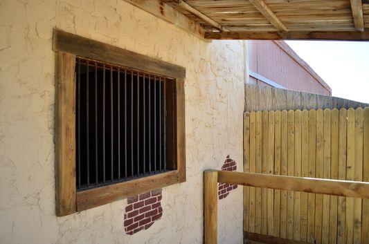 prison at Hualapai Ranch Grand Canyon West Rim