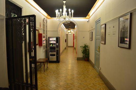 snack machines at Casa Gracia