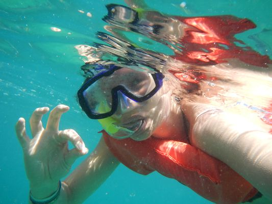 snorkeling in Los Cabos with Cabo Adventures