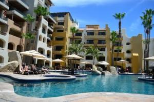 the Marina Fiesta main pool