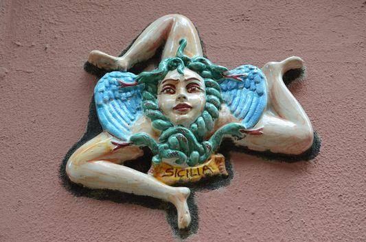 the Sicilian symbol