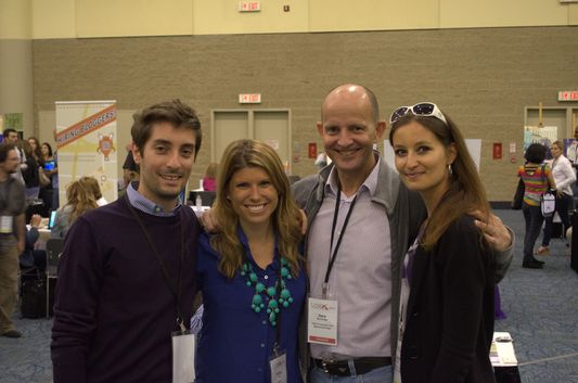 MSC cruise group reunited at TBEX in Toronto