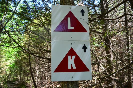 signs for lookout and kettle