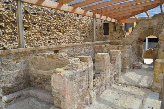 Aquae Calidae Roman baths in Caldes de Malavella