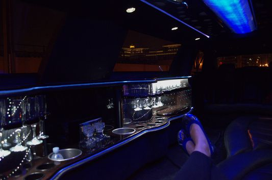 I could get used to this limousine comfort