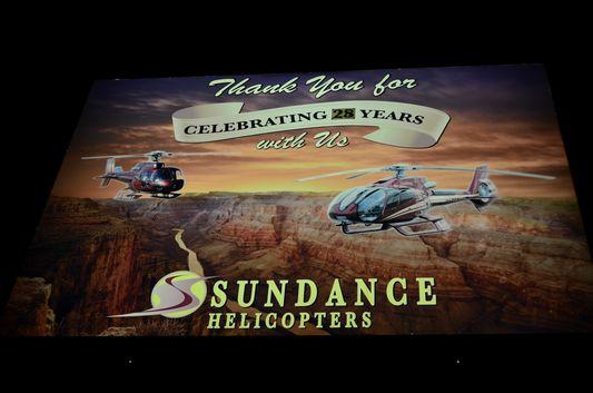 Sundance helicopters Vegas