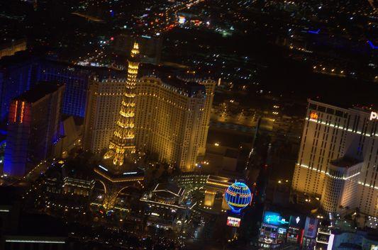 The Paris hotel in Vegas