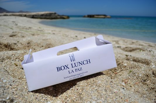 box lunch on Bonanza beach