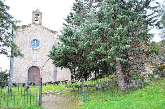 entrance to the Saint Maurice church