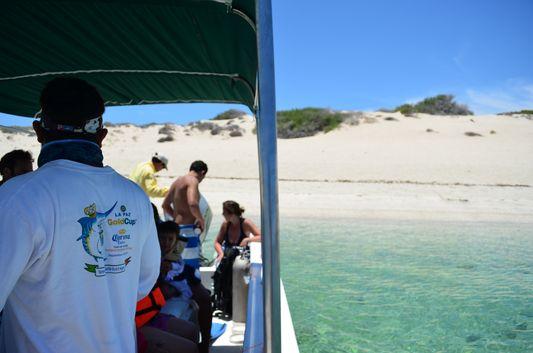 getting closer to Bonanza beach