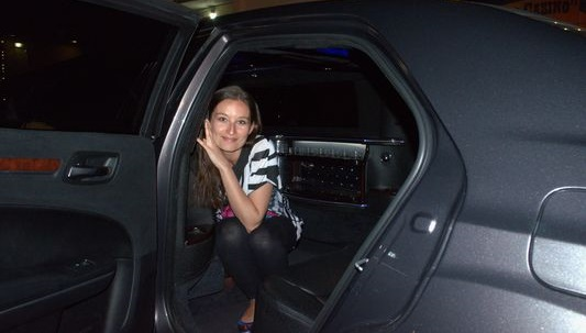 loved the luxury limousine in Vegas