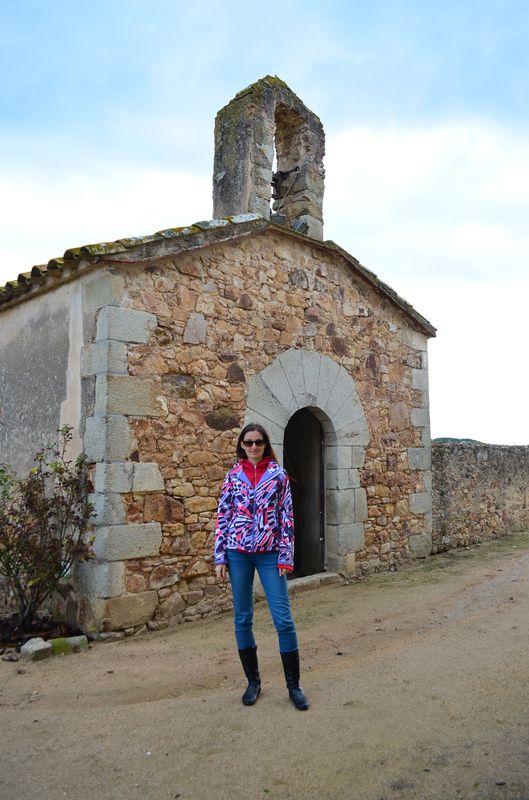 outside of San Sebastian church