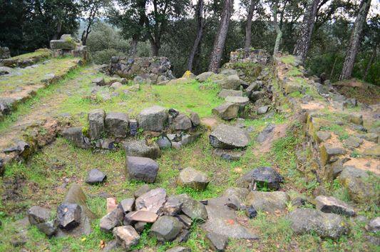 ruins of Castle of Malavella
