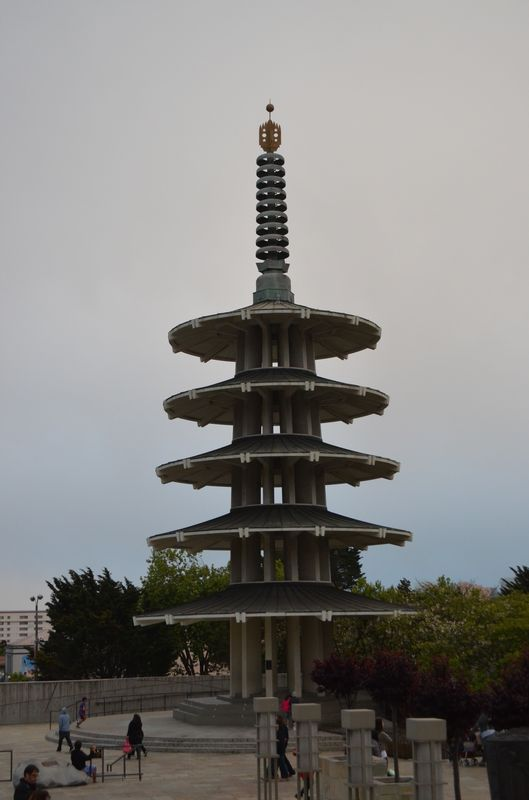 Pagoda in Japantown San Francisco