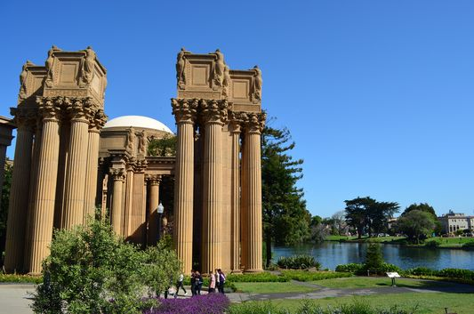 The Palace of Fine Arts San Francisco
