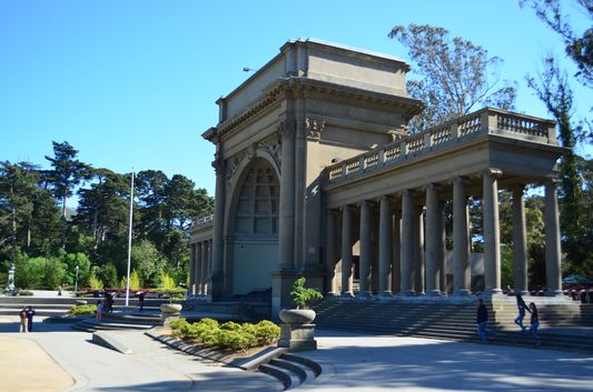 in Golden Gate Park