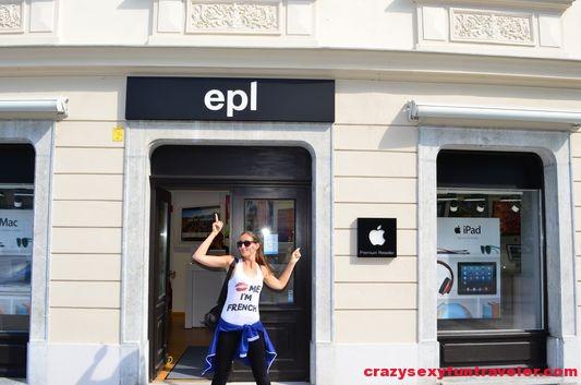 Apple Epl in Ljubljana