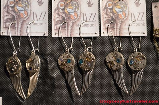 Jazz Steampunk jewelry in Portoroz
