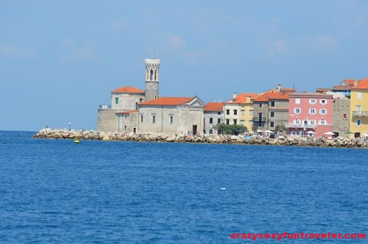 Piran from closer