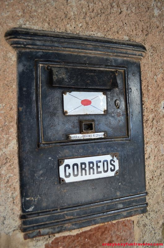 an old mail box