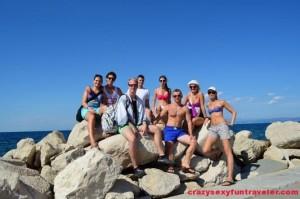 at the end of the Piran peninsula